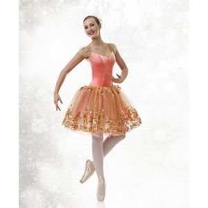 NWOT Curtain Call balleria costume - L
